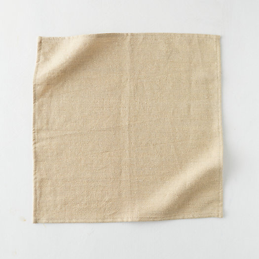 View larger image of Shimmer Linen Napkin