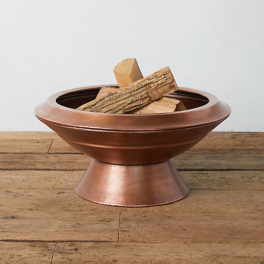 View larger image of Footed Copper Fire Pit