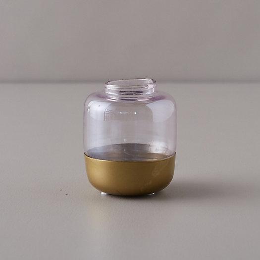 View larger image of Metallic Dipped Bud Vase