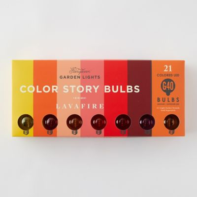 Stargazer Garden Lights Color Story Bulbs, Set of 21 Bulbs Only