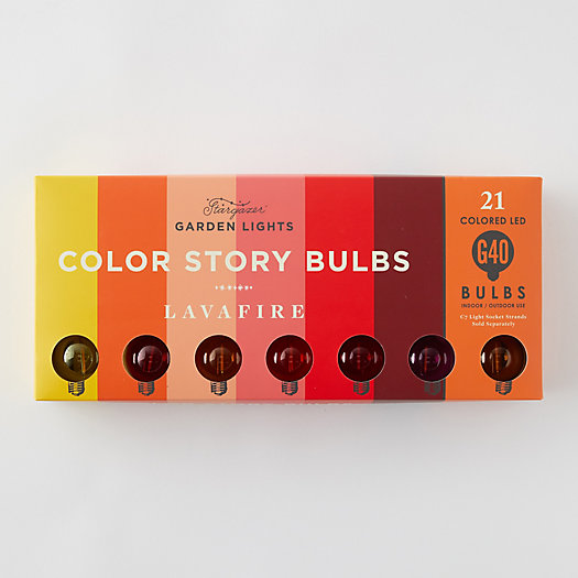 View larger image of Stargazer Garden Lights Color Story Bulb Set