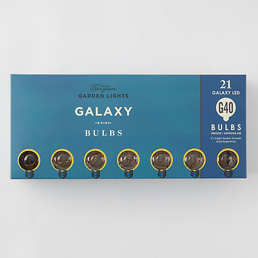 View larger image of Stargazer Garden Lights Galaxy Bulbs, Set of 21 Bulbs Only