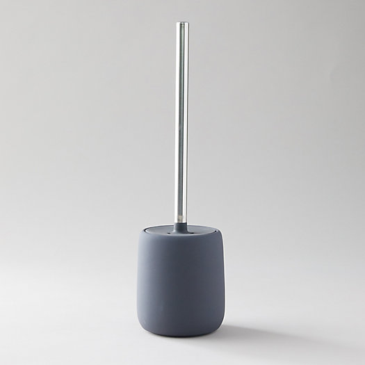 View larger image of Ceramic Toilet Brush + Holder