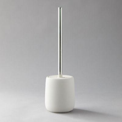 Ceramic Toilet Brush + Holder