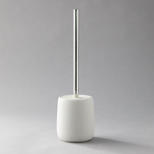 View larger image of Ceramic Toilet Brush + Holder