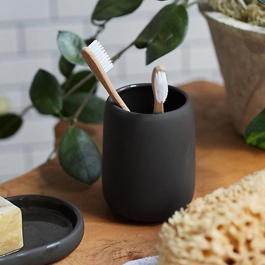 View larger image of Ceramic Bathroom Tumbler