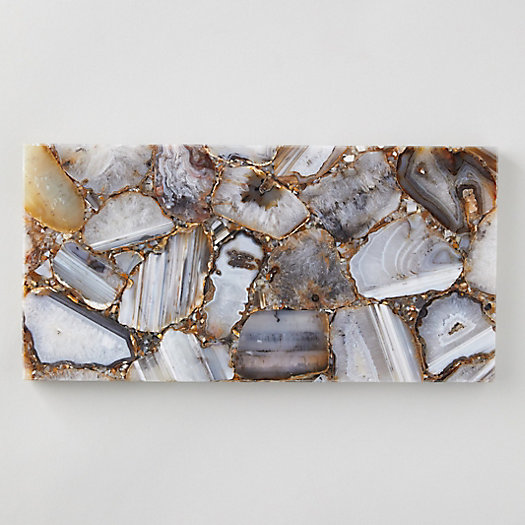 View larger image of Rectangular Agate Serving Board