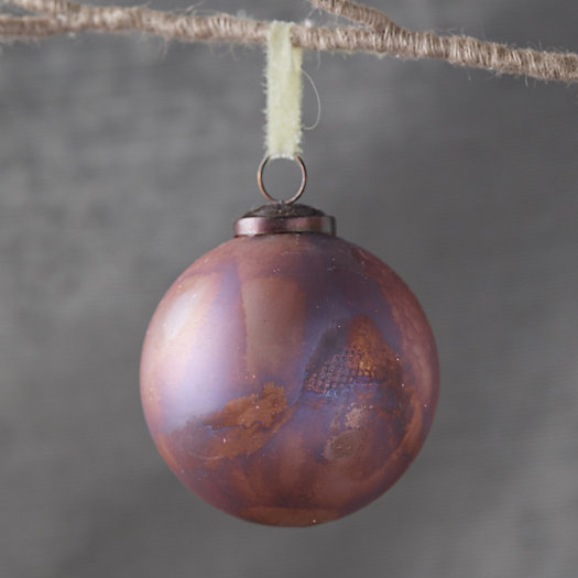 View larger image of Marbled Pink Globe Ornament