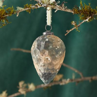 Patina Pinecone Ornament