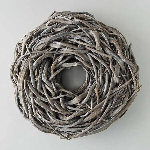 View larger image of Frosted Crazyvine Wreath