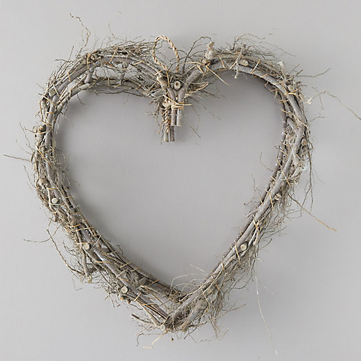 View larger image of Grapevine Heart Wreath