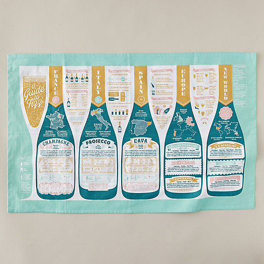 View larger image of Guide to Fizz Tea Towel