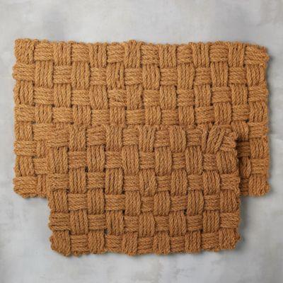 Basket Weave Doormat