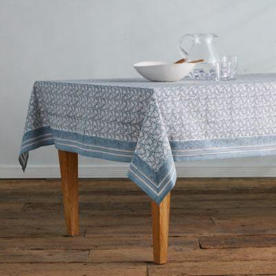 Sky Florals Tablecloth