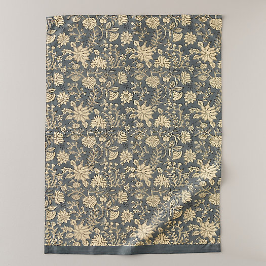 View larger image of Periwinkle Dahlia Tea Towel