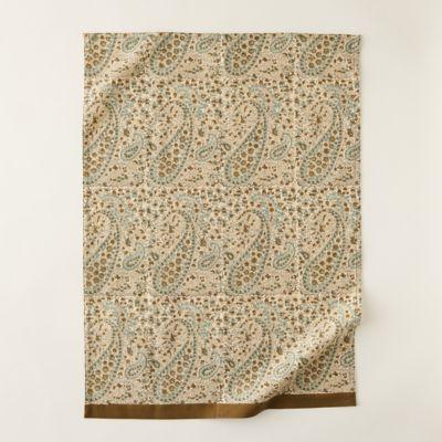 Paisley Artichoke Tea Towel