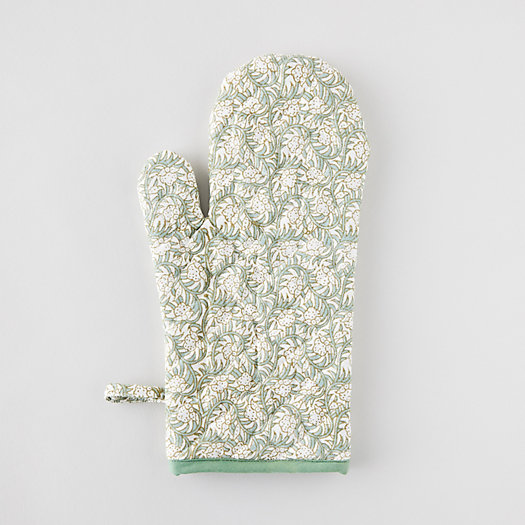 View larger image of Pink Ivy Oven Mitt