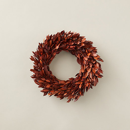 View larger image of Preserved Myrtle Leaf Wreath