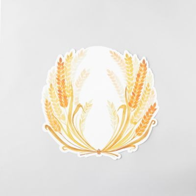 Wheat Bounty Paper Placemats, Set of 12