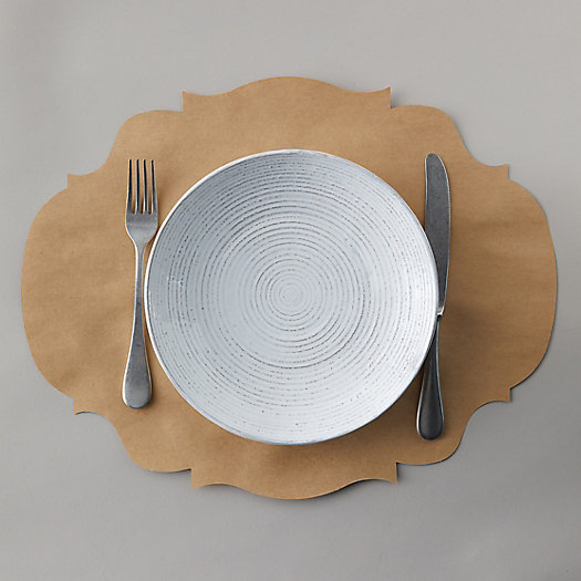 View larger image of Framed Kraft Paper Placemats, Set of 12