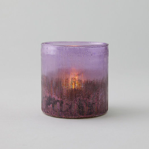 View larger image of Cut Glass Lilac Votive
