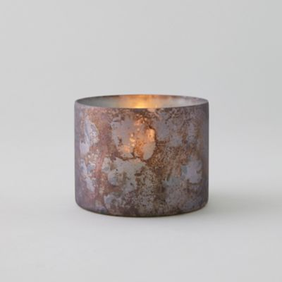 Oxidized Matte Copper Votive