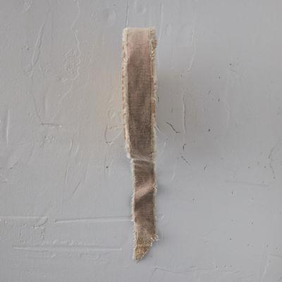 Antiqued Frayed Velvet Ribbon, 26MM