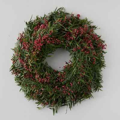 Fresh Pepperberry Wreath
