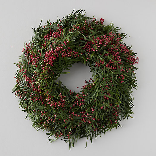 View larger image of Fresh Pepperberry Wreath