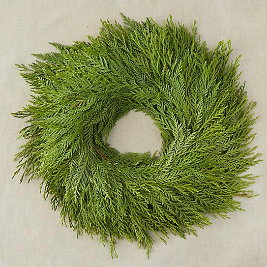 View larger image of Fresh Cedar Wreath
