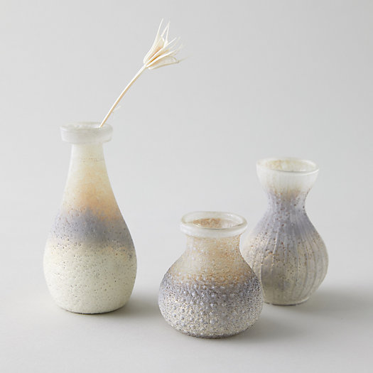View larger image of Antiqued Ombre Bud Vases, Set of 3