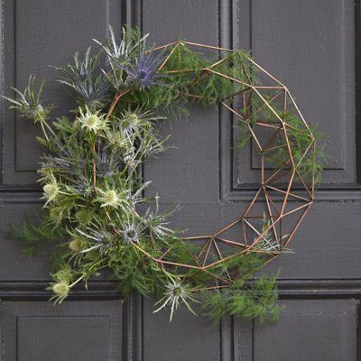 Fillable Iron Wreath Base, Round