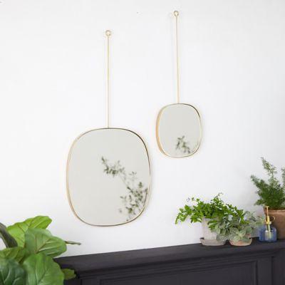Hanging Accent Mirror