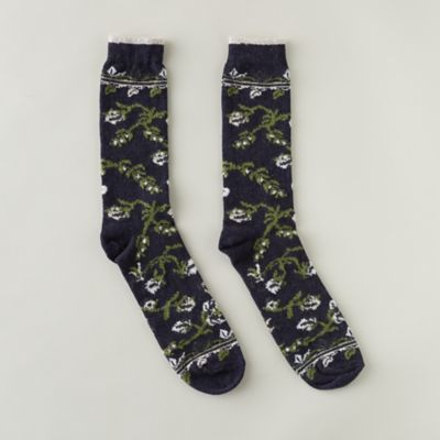 Women's Floral Socks