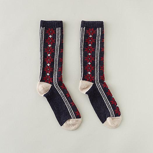 View larger image of Women's Poinsettia Socks