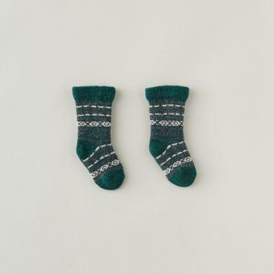 Baby Fairisle Socks