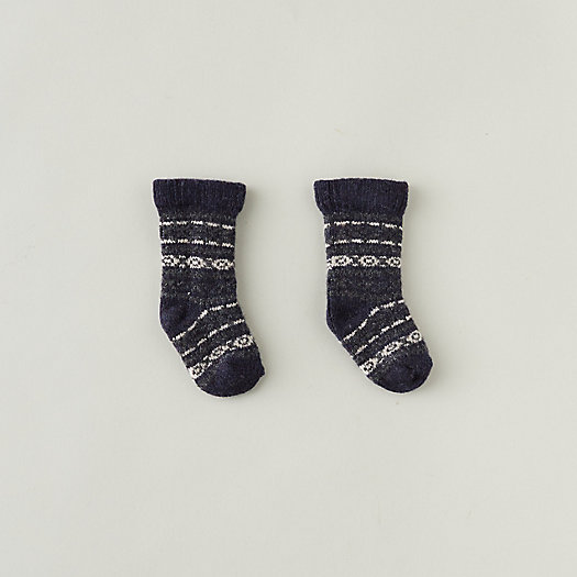 View larger image of Baby Fairisle Socks