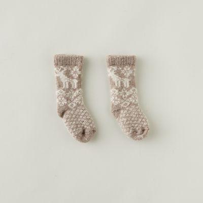 Baby Reindeer Socks