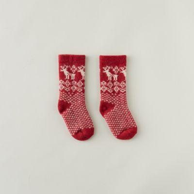Toddler Reindeer Socks