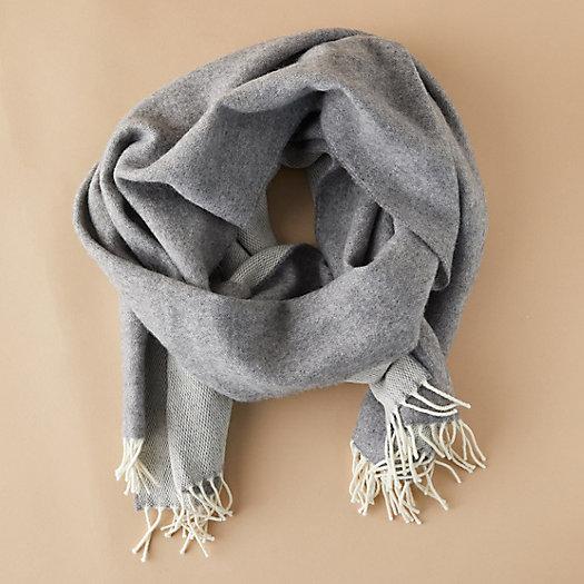 View larger image of Merino Wool Reversible Scarf