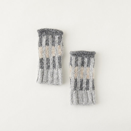 View larger image of Alpaca Striped Colorblock Gloves