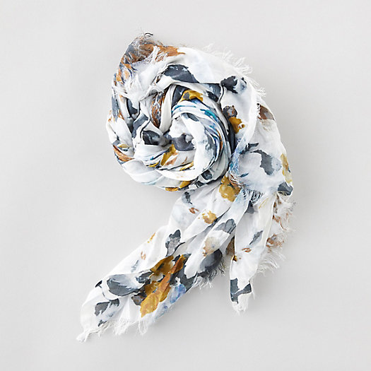 View larger image of Snowy Flowers Scarf