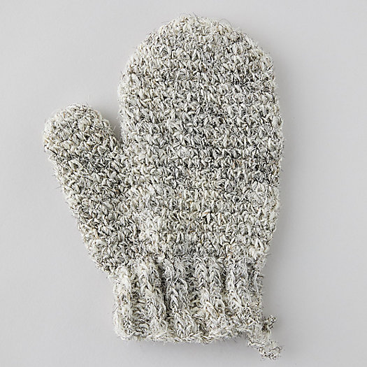 View larger image of Sisal + Horsehair Bath Glove