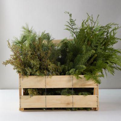 Fresh Mixed Greens Crate