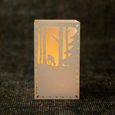 Laser Cut Paper Lantern, Doe