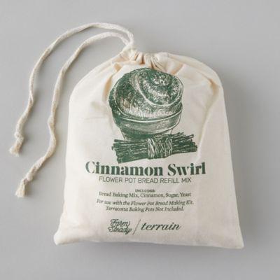 Flower Pot Bread Mix Refill, Cinnamon Swirl