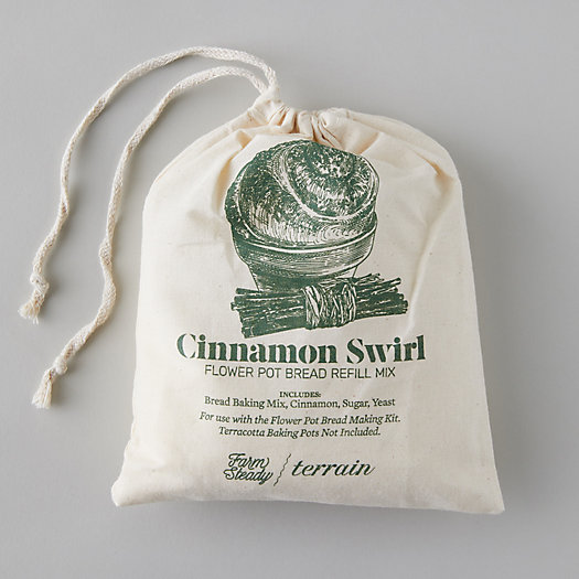 View larger image of Flower Pot Bread Mix Refill, Cinnamon Swirl