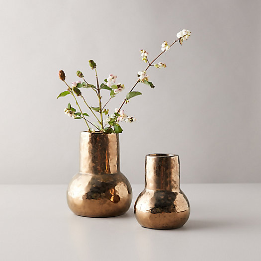 View larger image of Copper Ceramic Vase