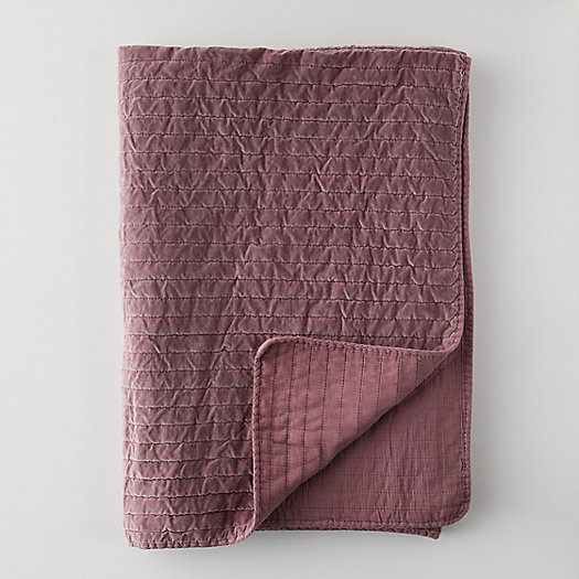 View larger image of Velvet Cotton Throw