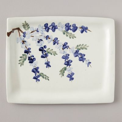 Porcelain Wisteria Serving Tray